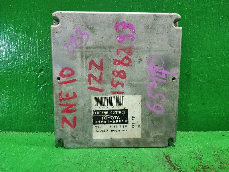 Блок управления efi Toyota Wish ZNE10 1ZZ-FE 89661-68010
