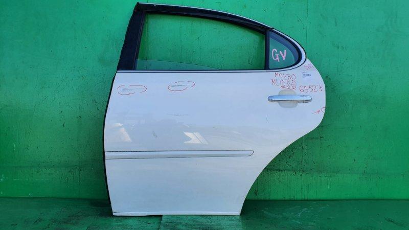Дверь Toyota Windom MCV30 задняя левая