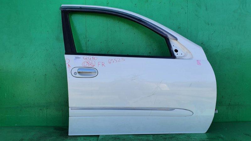 Дверь Nissan Bluebird Sylphy QG10 передняя правая