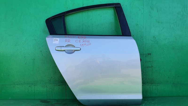 Дверь Mazda Axela BK5P. BKEP задняя правая