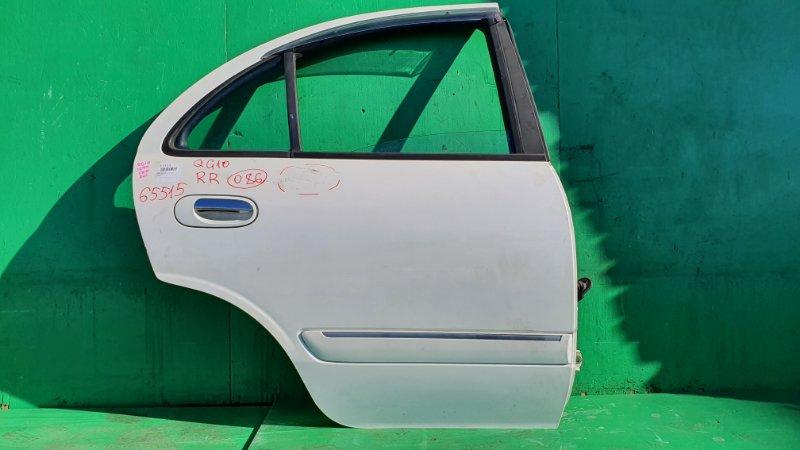 Дверь Nissan Bluebird Sylphy QG10 задняя правая