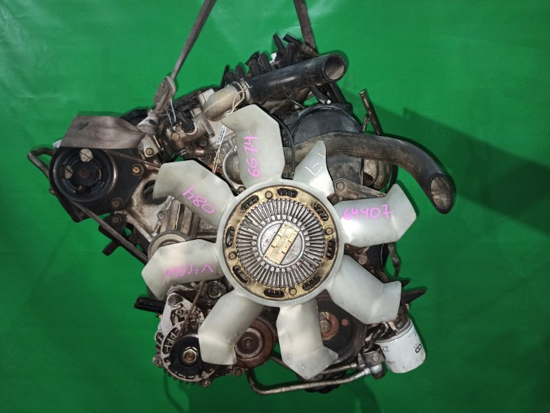 Двигатель Mitsubishi Pajero V45W 6G74 Б/Н