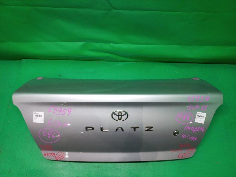 Крышка багажника Toyota Platz SCP11 08.1999