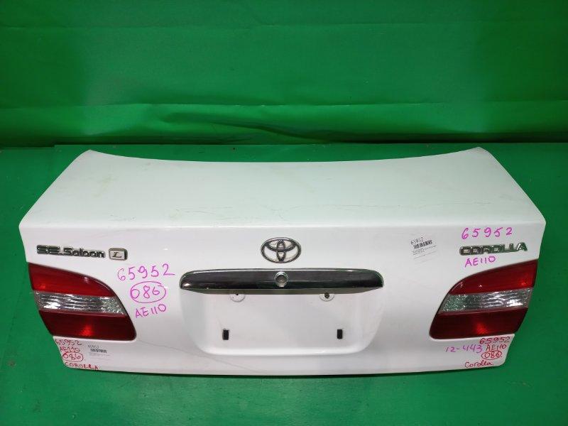 Крышка багажника Toyota Corolla AE110 04.1997 12-443