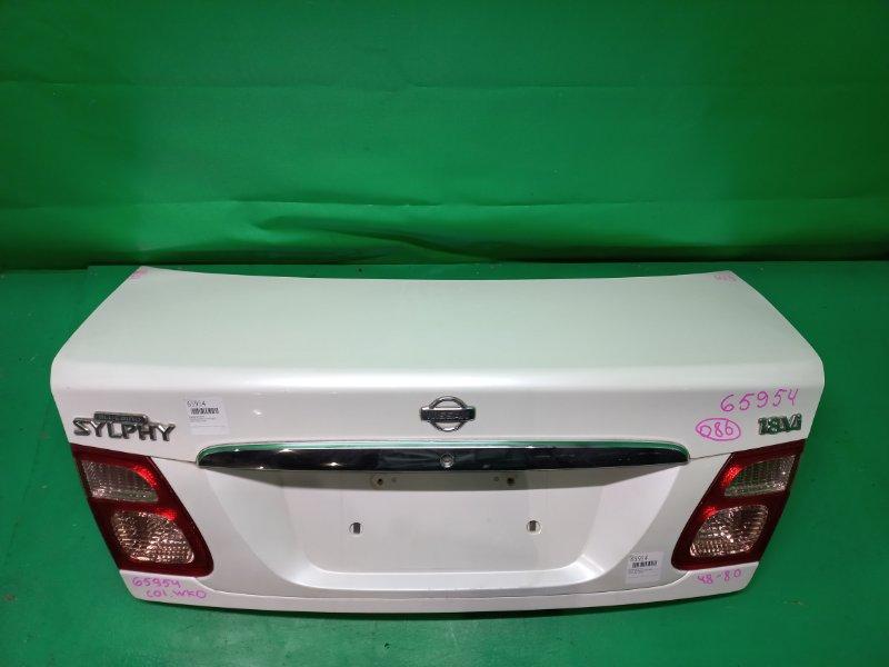 Крышка багажника Nissan Bluebird Sylphy QG10 07.2000 48-80