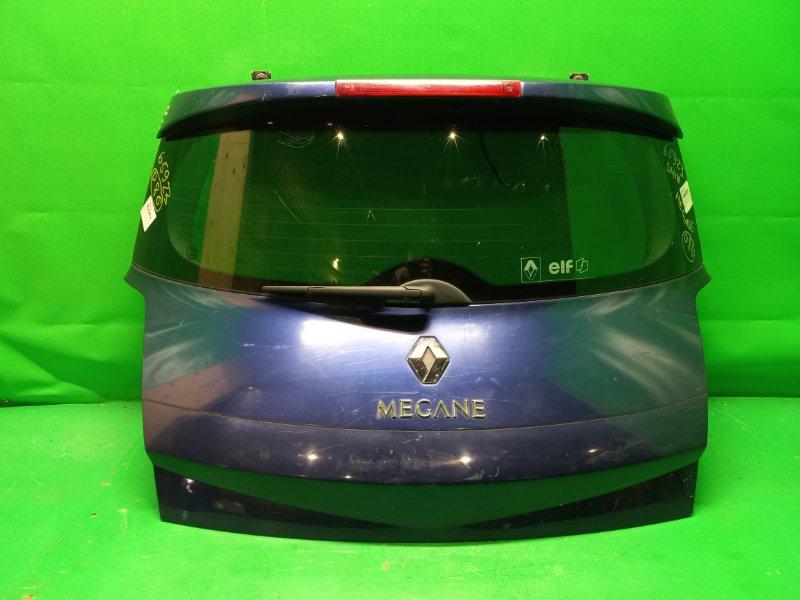 Дверь задняя Renault Megane BM1N 09.2002