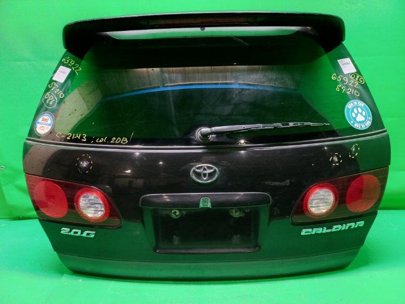 Дверь задняя Toyota Caldina ST210 21-43