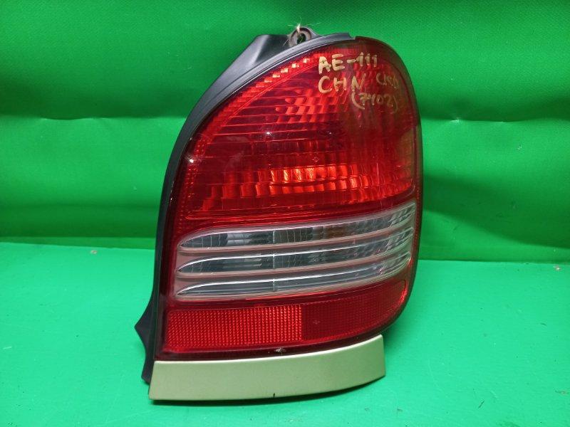 Стоп-сигнал Toyota Corolla Spacio AE111 задний правый 13-58