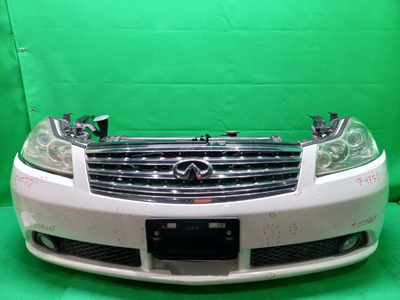 Nose cut Nissan Fuga PY50 VQ35DE 10.2004