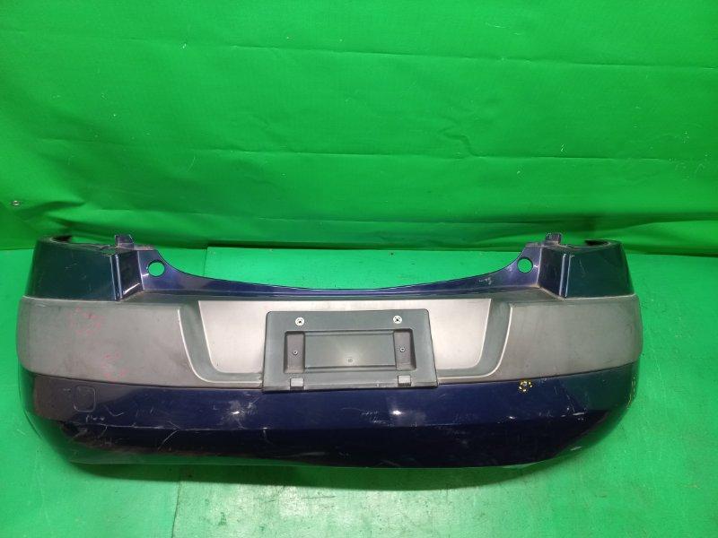 Бампер Renault Megane BM1N 09.2002 задний