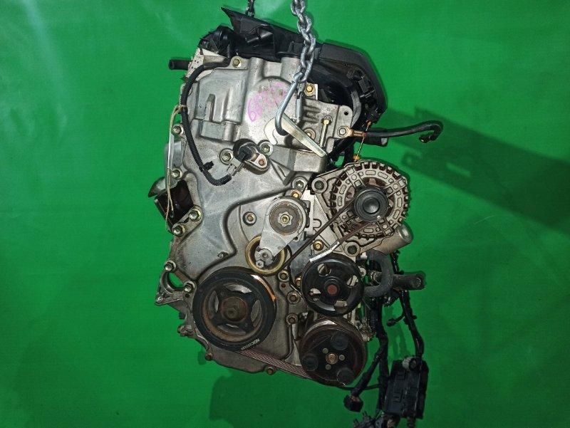 Двигатель Nissan Bluebird Sylphy KG11 MR20DE 227784A
