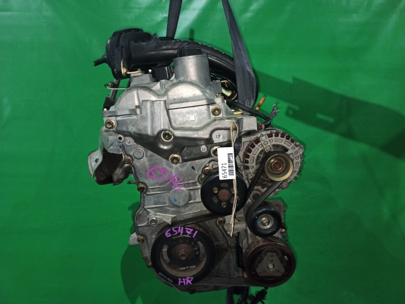 Двигатель Nissan Tiida Latio SC11 HR15DE 337987