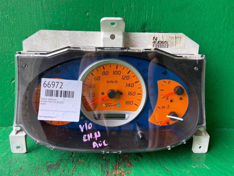 Панель приборов Nissan Tino V10 QG18DE 4U065