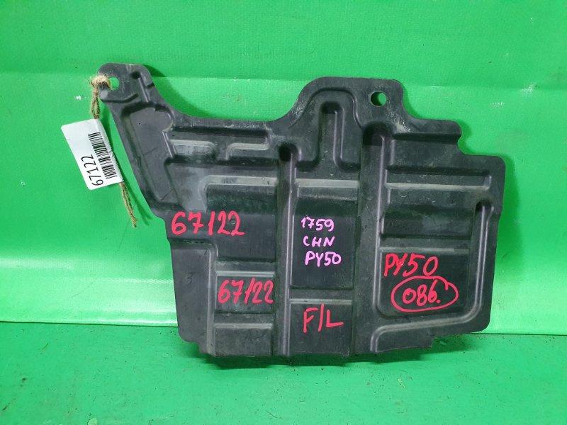 Защита двигателя Nissan Fuga PY50 передняя левая 75894-EG000