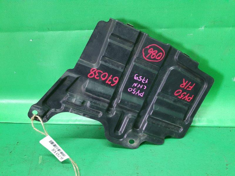 Защита двигателя Nissan Fuga PY50 передняя правая 75893-EG000