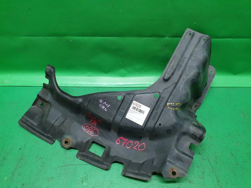 Защита двигателя Toyota Platz SCP11 передняя правая
