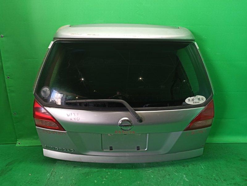 Дверь задняя Nissan Wingroad WFY11 10.2001 132-24824