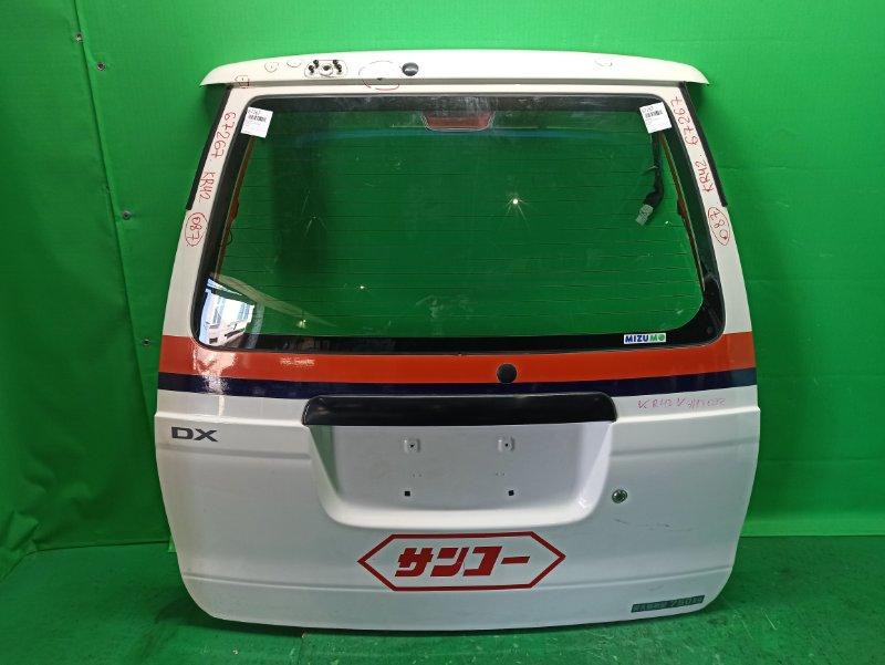 Дверь задняя Toyota Lite Ace Noah KR42