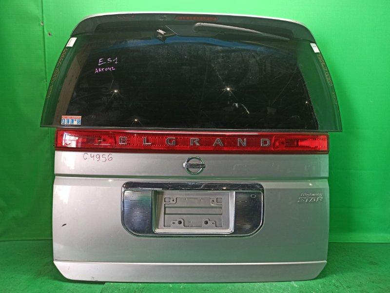 Дверь задняя Nissan Elgrand E51 4956B