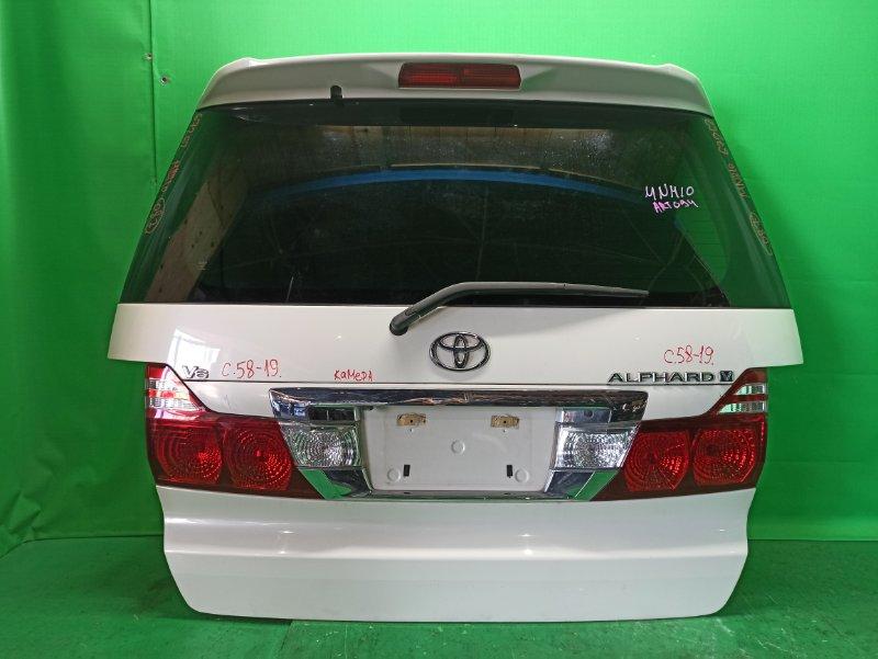 Дверь задняя Toyota Alphard ANH10 04.2005 58-19