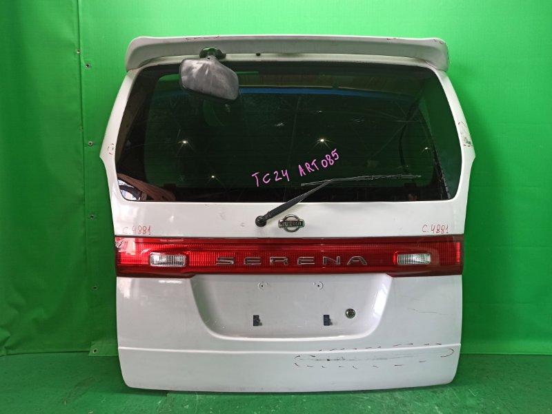 Дверь задняя Nissan Serena PC24 06.1999 48-81