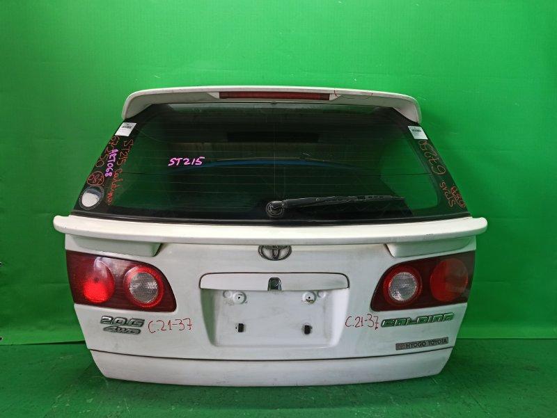Дверь задняя Toyota Caldina ST210 21-37