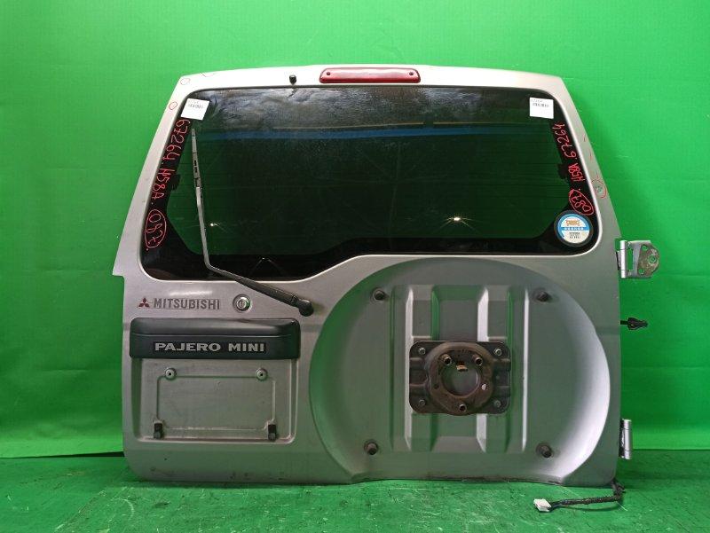 Дверь задняя Mitsubishi Pajero Mini H58A