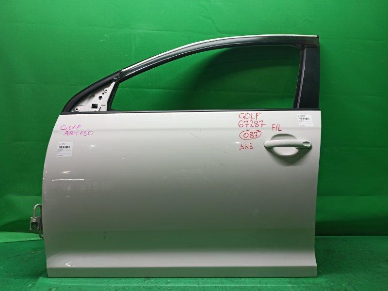 Дверь Volkswagen Golf 5K1 10.2008 передняя левая