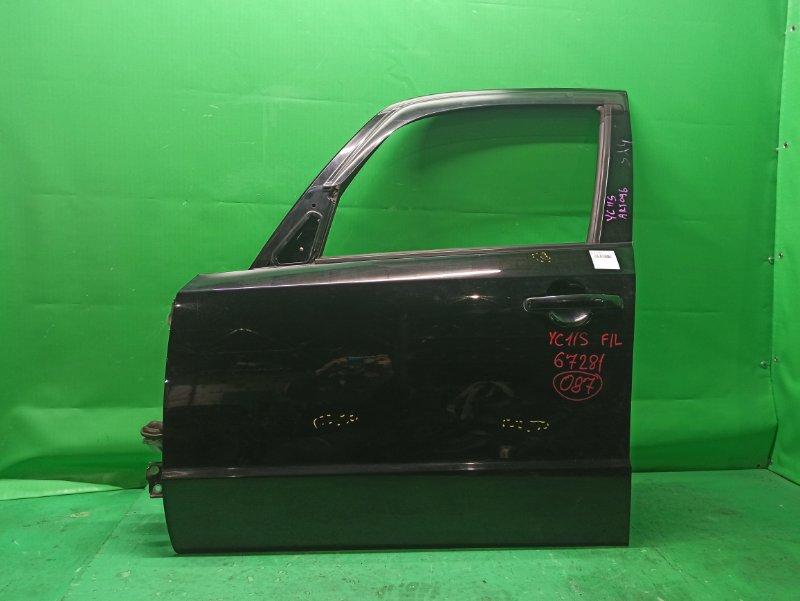 Дверь Suzuki Sx4 YC11S передняя левая