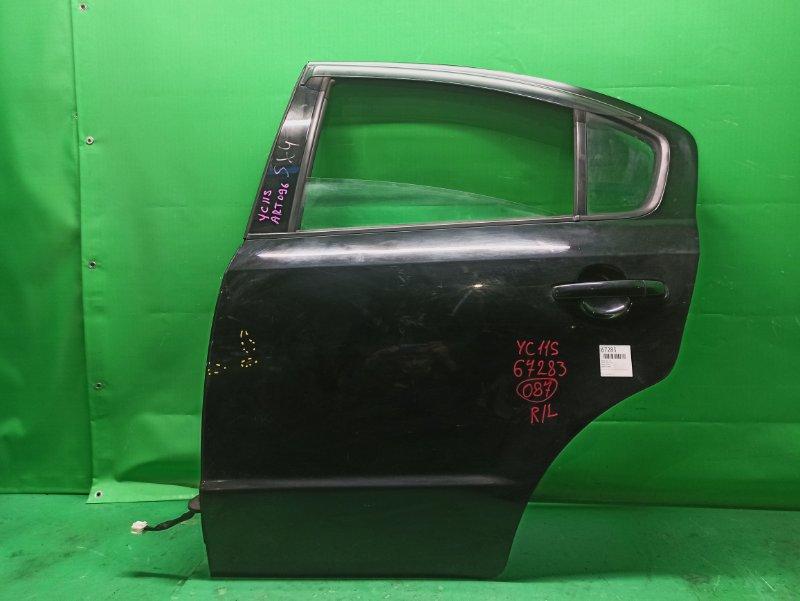Дверь Suzuki Sx4 YC11S задняя левая