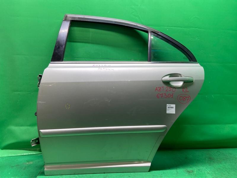 Дверь Toyota Avensis AZT250 задняя левая