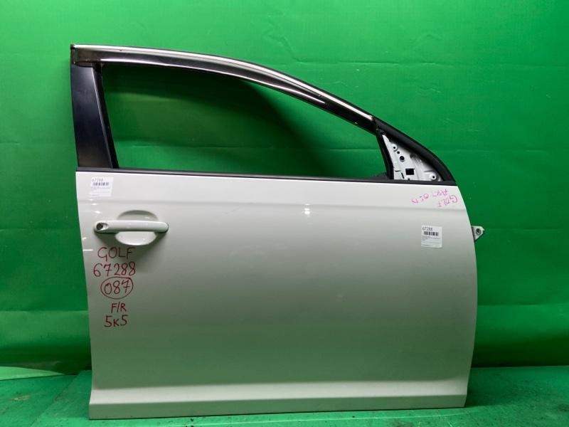 Дверь Volkswagen Golf 5K1 10.2008 передняя правая