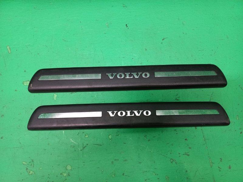 Накладка на порог Volvo V50 MW20 передняя