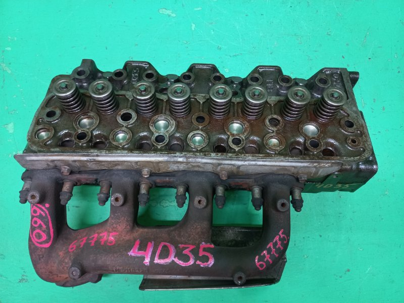 Головка блока цилиндров Mitsubishi Canter 4D35