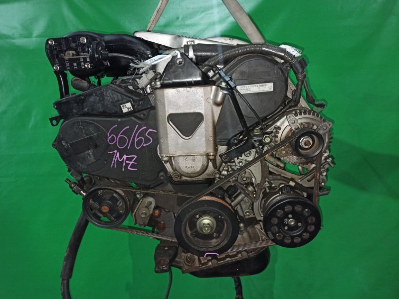 Двигатель Toyota Alphard MNH10 1MZ-FE 1904244