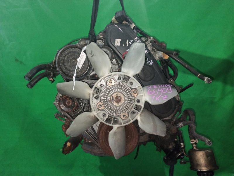 Двигатель Toyota Hiace KZH106 1KZ-TE 1066217