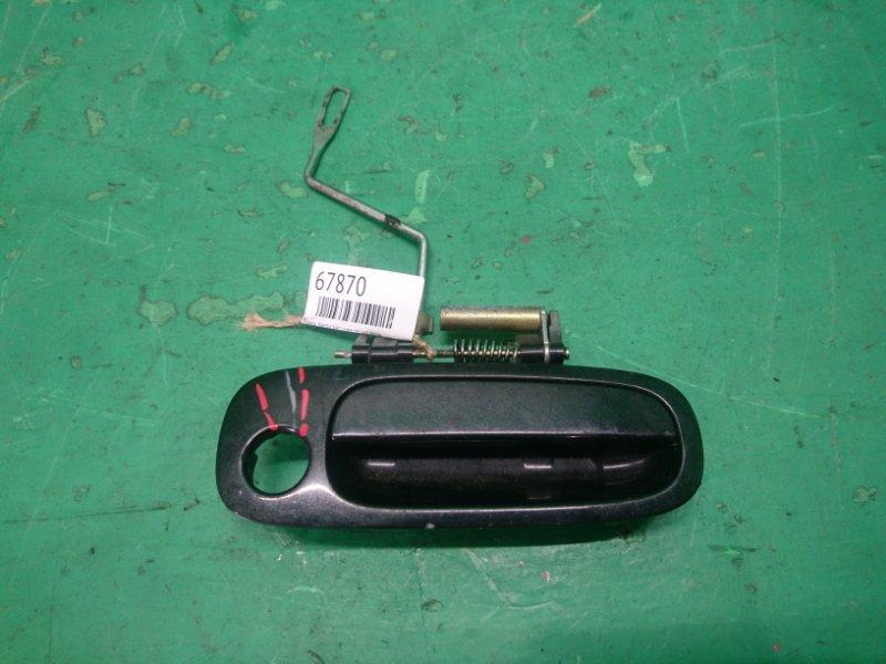 Ручка двери внешняя Toyota Caldina ST210 передняя правая