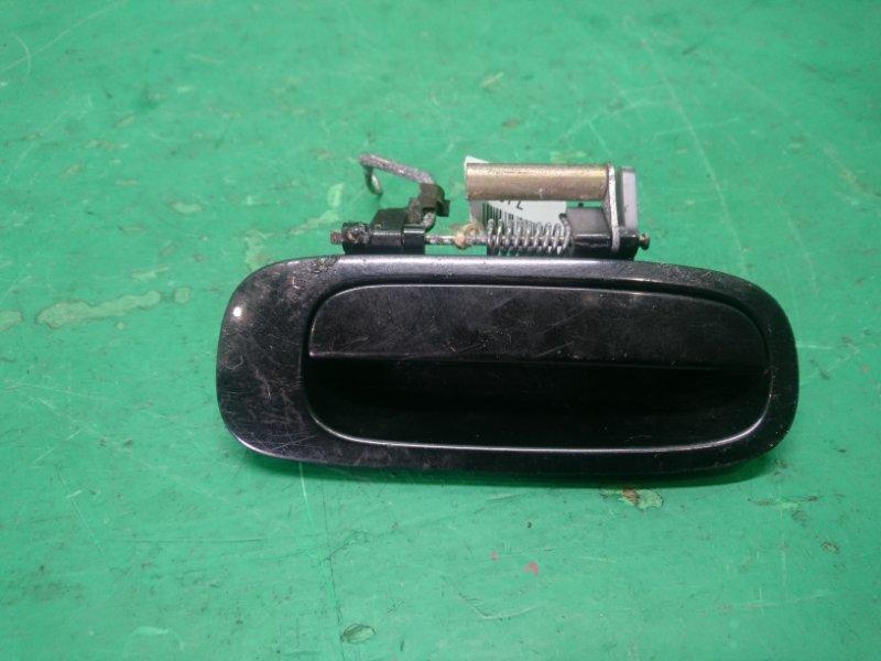 Ручка двери внешняя Toyota Caldina ST210 задняя правая