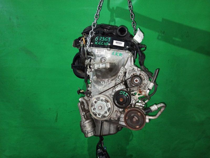 Двигатель Toyota Passo KGC10 1KR-FE 0660608
