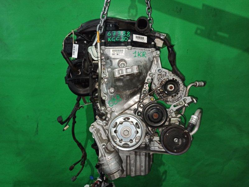 Двигатель Toyota Passo KGC30 1KR-FE 1045057
