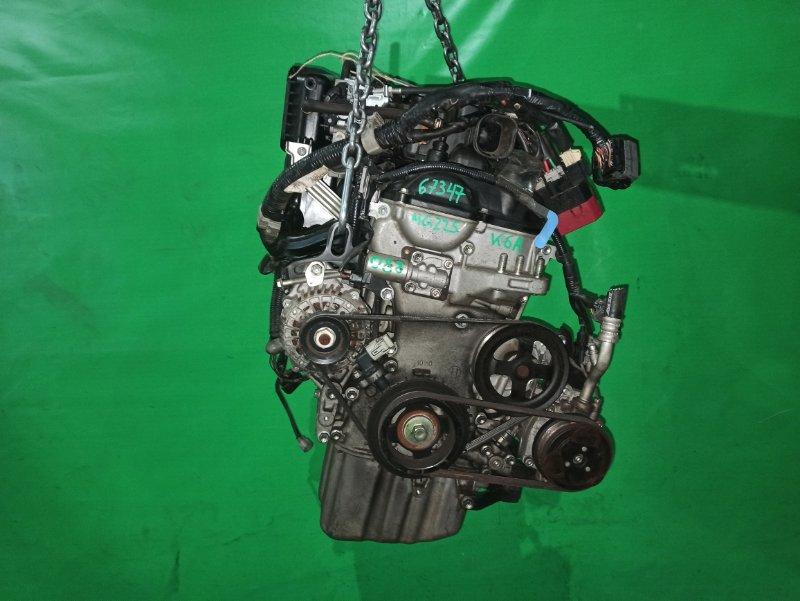 Двигатель Nissan Moco MG22S K6A 4873437