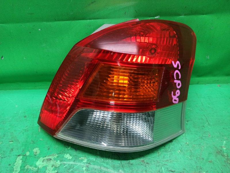 Стоп-сигнал Toyota Vitz SCP90 задний правый 52-187