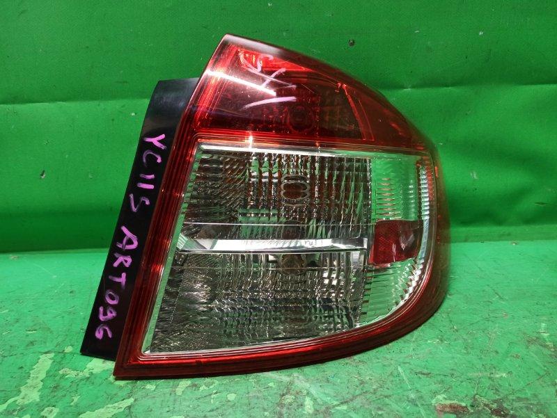 Стоп-сигнал Suzuki Sx4 YA11S задний правый 220-59158