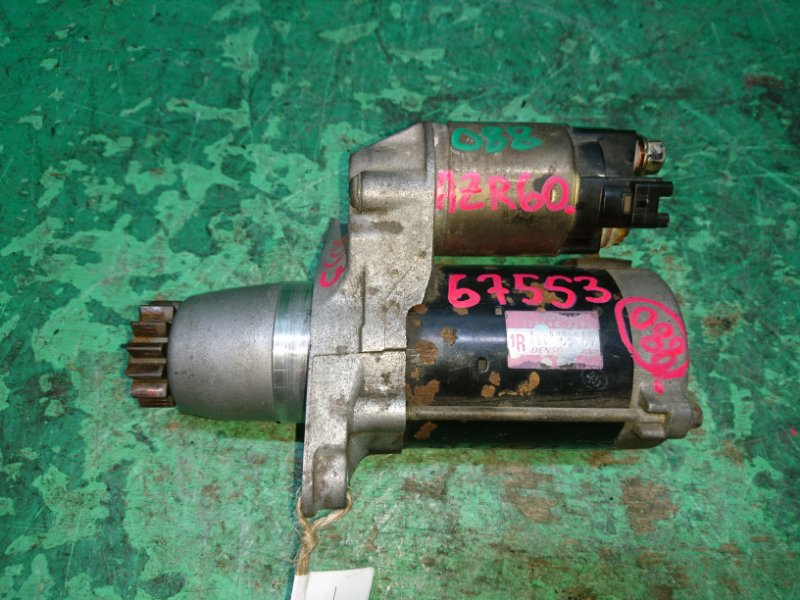 Стартер Toyota Noah AZR60 1AZ-FSE 28100-28051