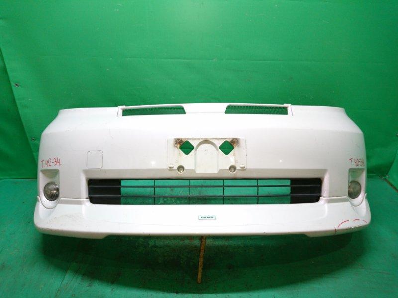 Бампер Toyota Porte NNP11 передний 4234