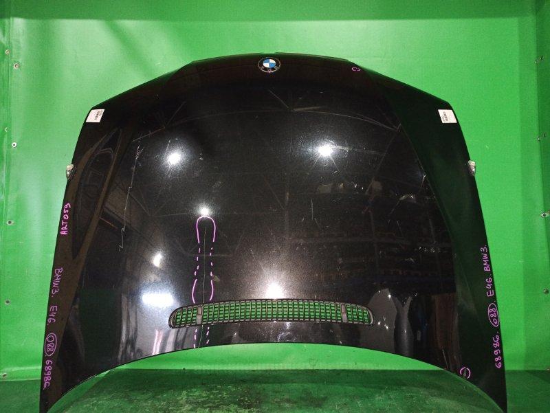 Капот Bmw 3-Series E46 09.2001