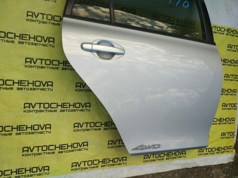 Замок двери Toyota Corolla Filder NZE144-9008616 1NZ-FE 2008 задний правый
