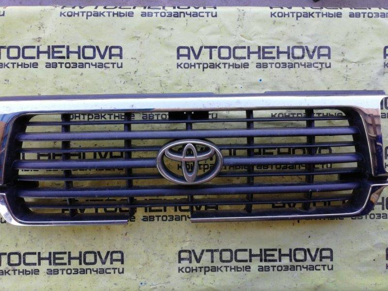 Решетка радиатора Toyota Land Cruiser FZJ80-0117393 1FZFE 1995 передняя