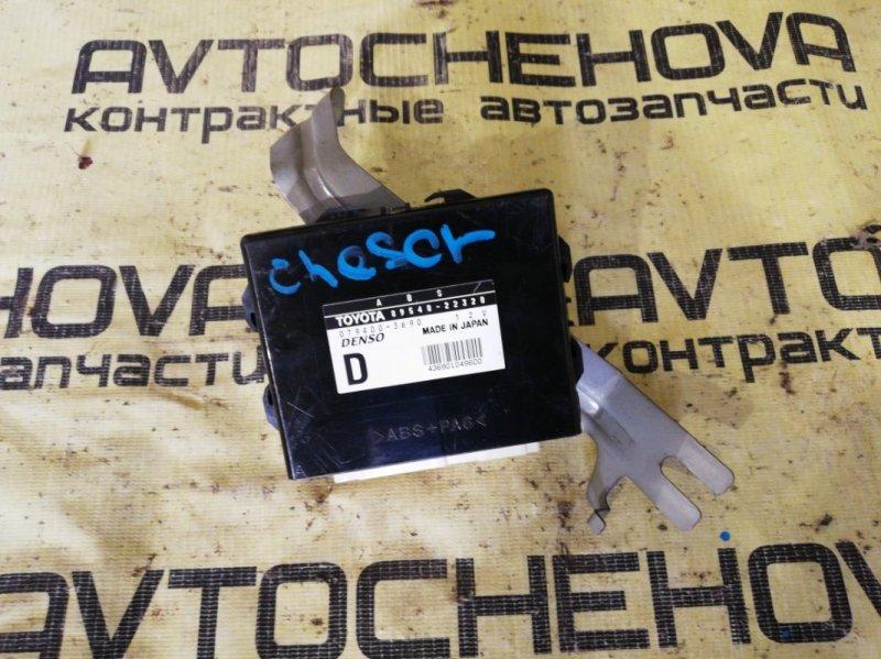 Блок управления abs Toyota Chaser JZX100-0119776 1JZ-GE 2001