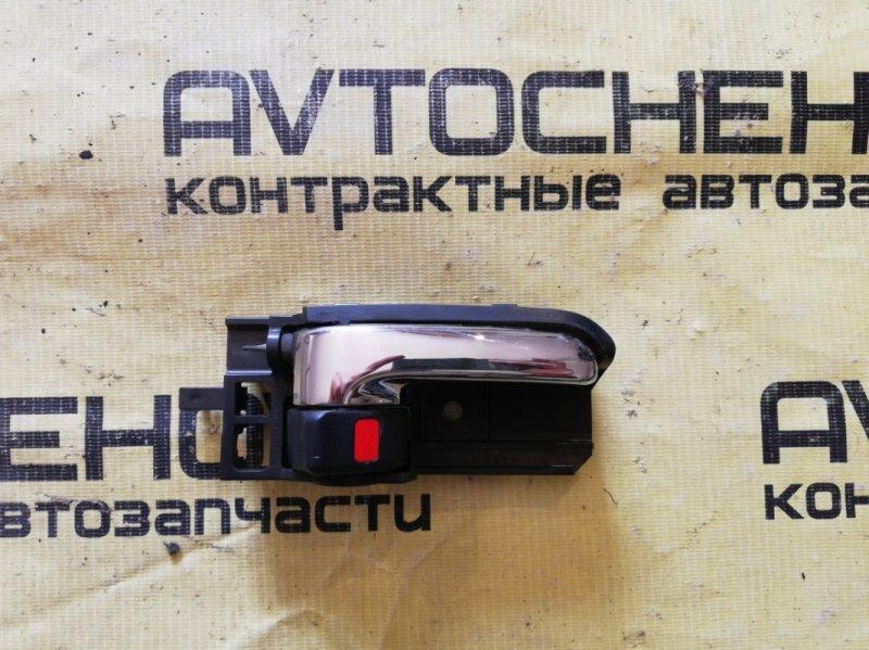 Ручка двери внутренняя Toyota Wish ZNE10-0360006 1ZZ-FE 2007 задняя правая
